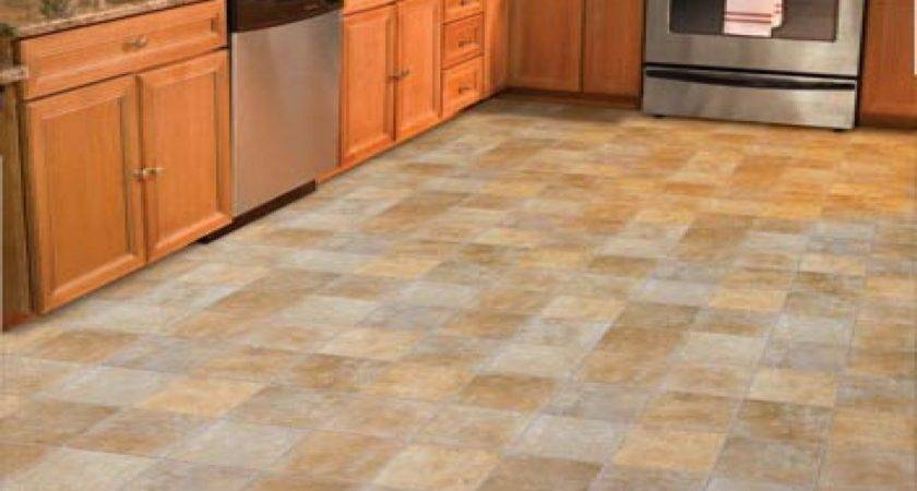 Vinyl Kitchen Floor Tiles Laminate Flooring Ideas