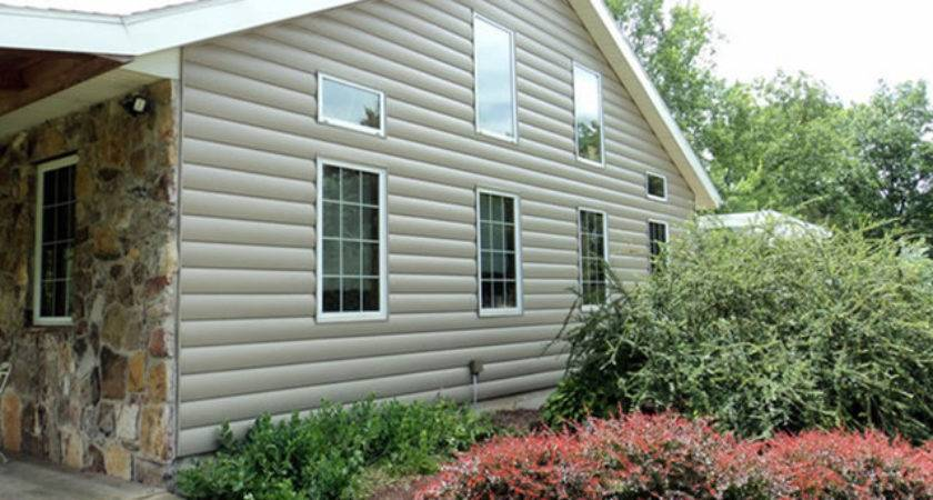 Vinyl Log Siding Traditional Exterior New York