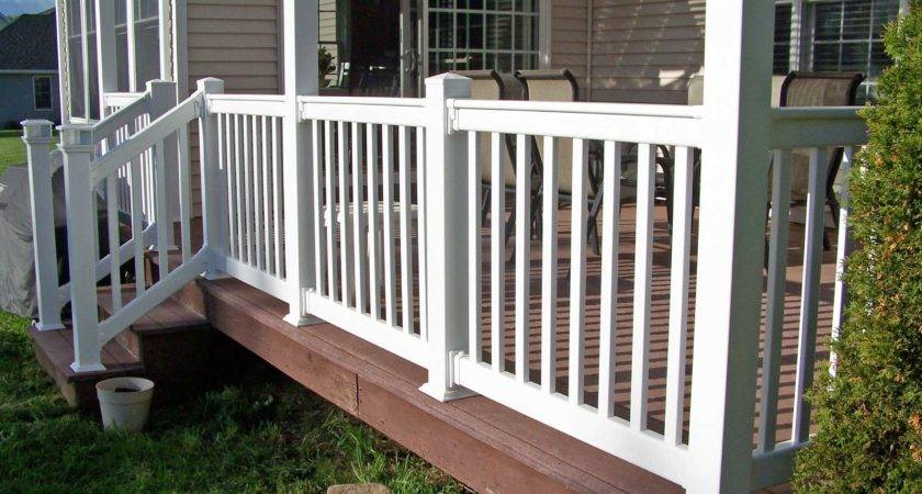Vinyl Porch Railings Different Types Teamns Info