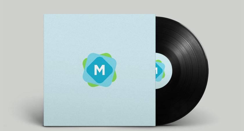 Vinyl Record Cover Mockup Templates