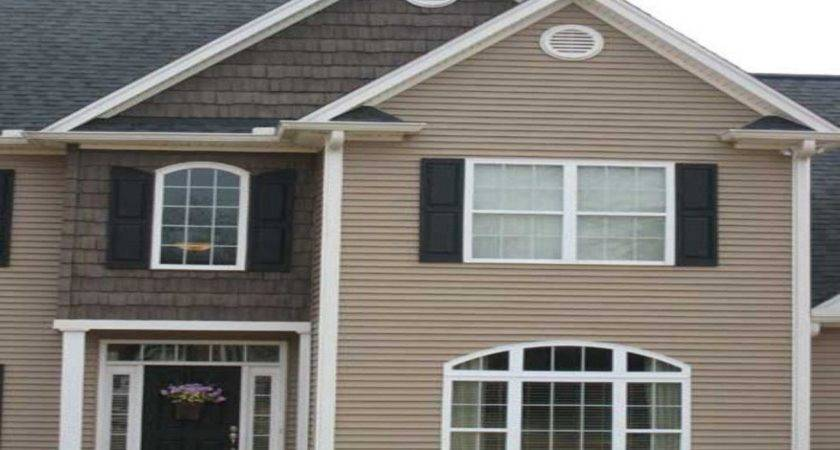 Vinyl Siding Color Combinations Examples Mobile Home