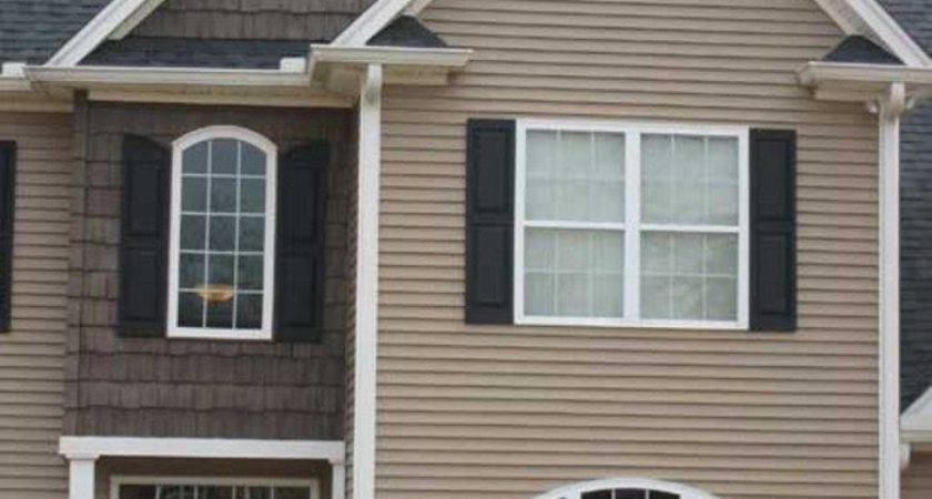 Vinyl Siding Color Combinations Examples Warm Neutral