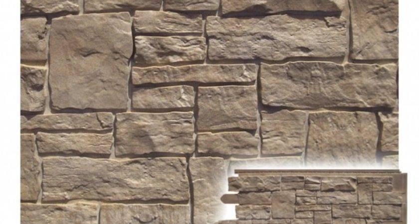 Vinyl Siding Cultured Stone Veneer Wall Panel West