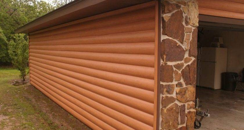 Vinyl Siding Diy Home Ideas Log Cabin Style