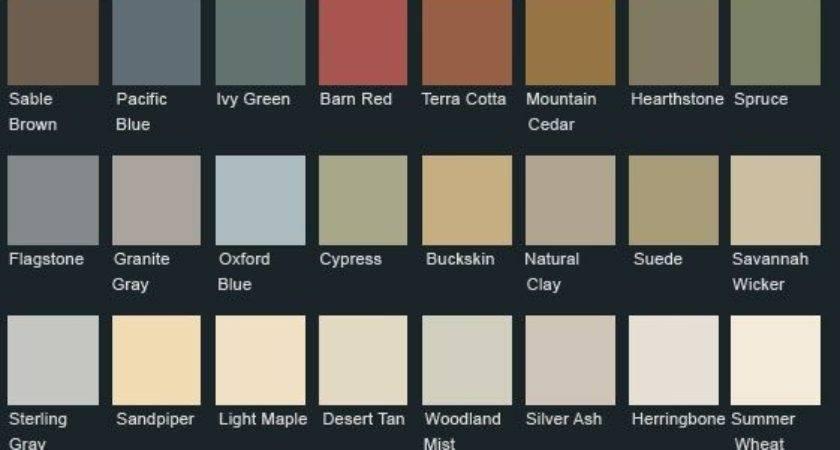 Vinyl Siding Lancaster County Colors