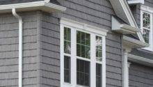 Vinyl Siding Staggered Shake Like Real Cedar Colors