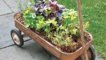 Wagon Herb Planter Our Best Salvage Style Projects
