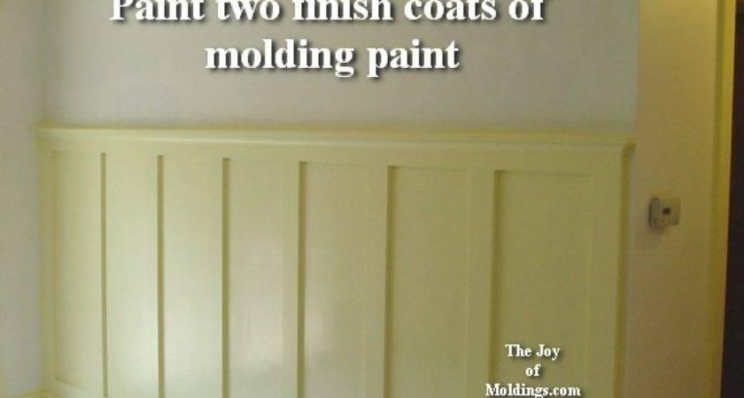 Wainscoting Tall Paint Joy Moldings