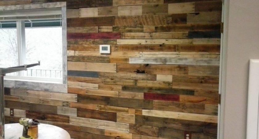 Wall Art Out Wooden Pallets Pallet Ideas Recycled