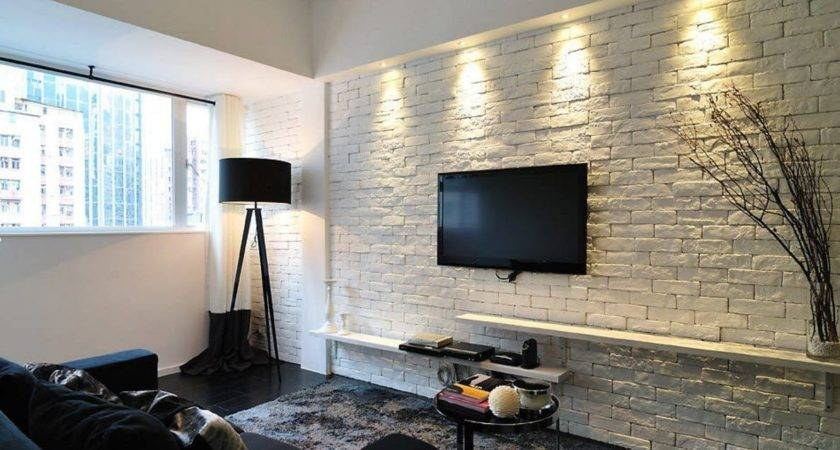 Wall Brickwork Design Ideas Modern Living Spaces Interior
