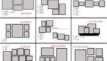 Wall Layout Ideas Living Well Spending Less