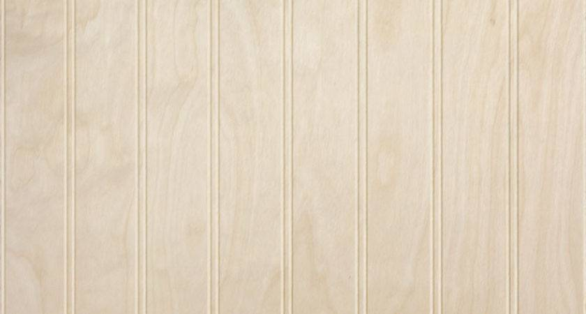 Wall Paneling Beadboard Unfinished Birch Veneer Inch
