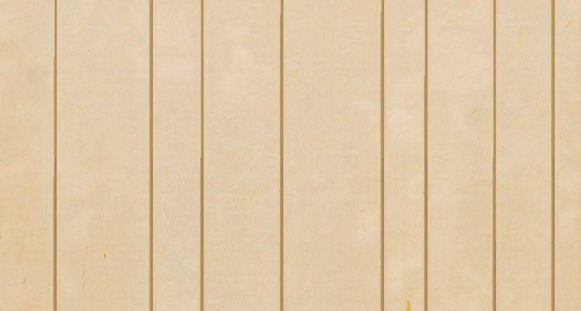 Wall Paneling Groove Unfinished Birch Veneer