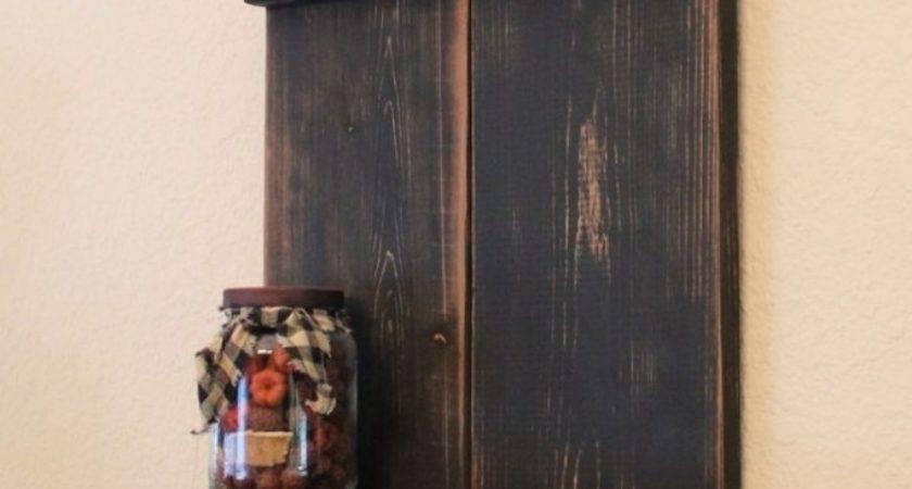 Wall Shelves Primitive Shelf