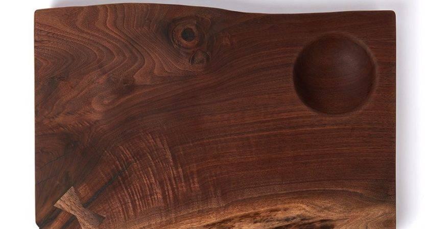 Walnut Serving Board Wooden Palate Farm Fable