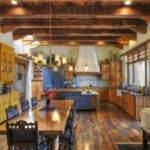 Warm Southwestern Style Kitchen Interiors Going