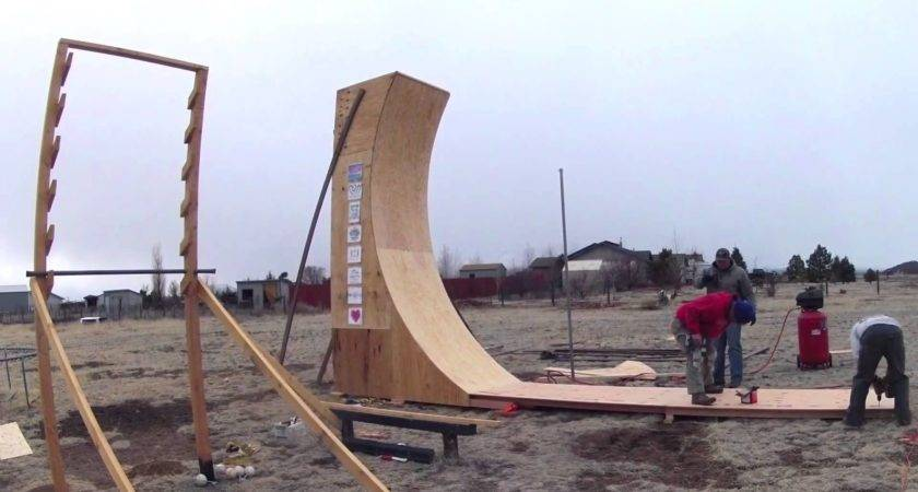 Warped Wall Construction Youtube