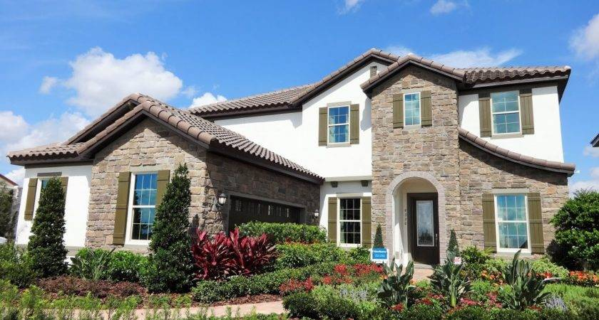 Watermark Meritage Homes Hawthorne Model Winter