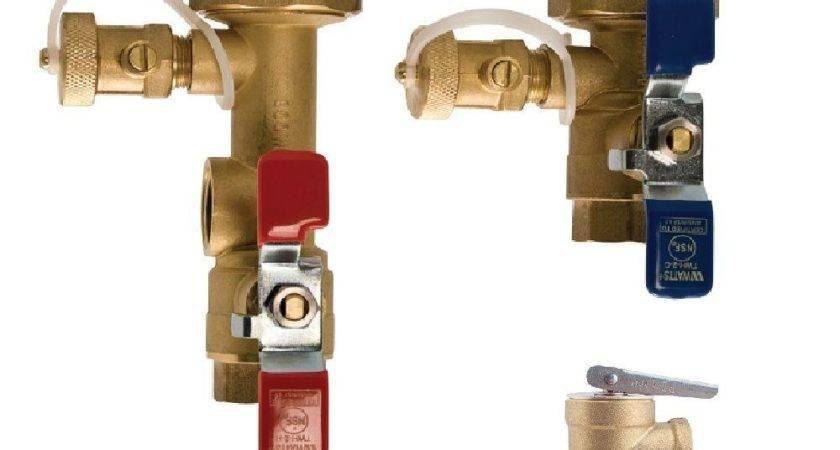 Watts Lead Copper Tankless Water Heater Valve