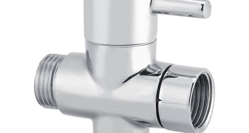 Way Shape Diverter Shut Off Valve Shower Toilet