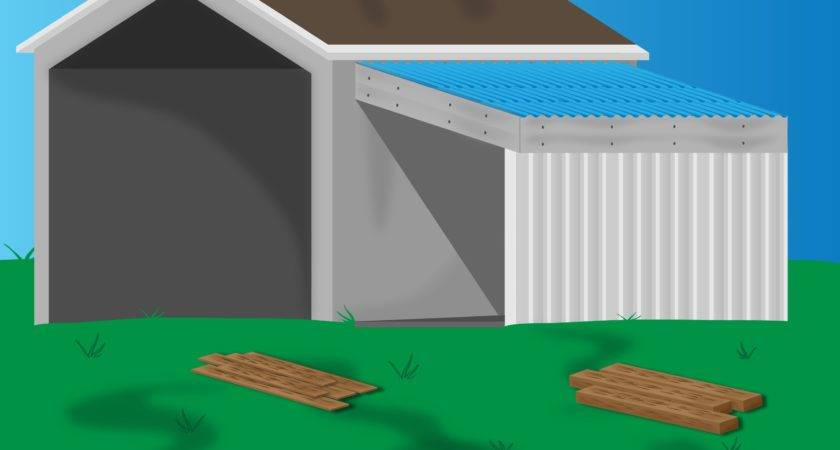 Ways Add Lean Onto Shed Wikihow