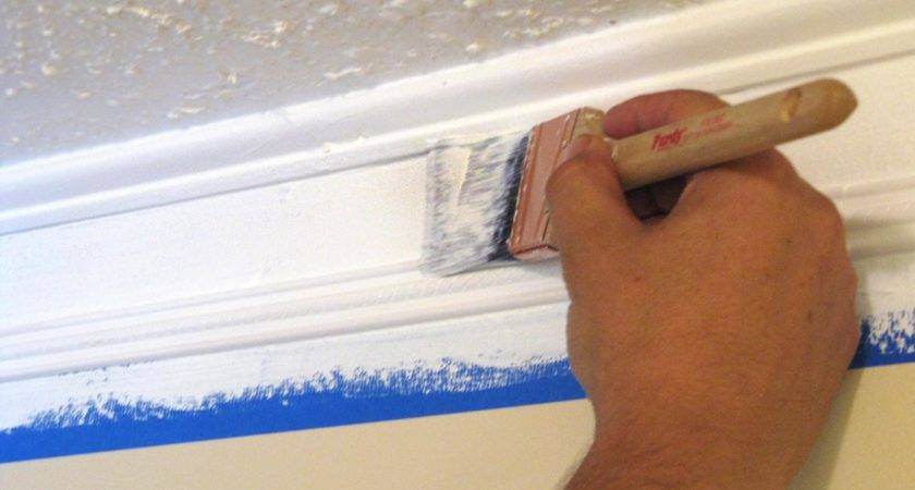 Weekend Project Create Faux Crown Molding Hgtv