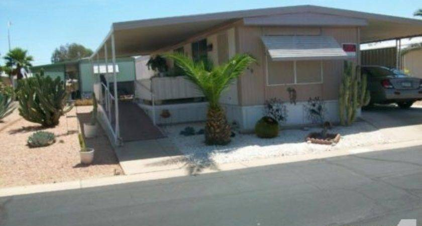Well Maintained Mobile Home Upgrades East Mesa