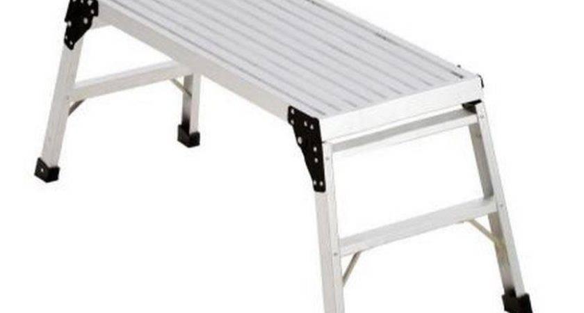Werner Pro Deck Aluminum Portable Work Platform