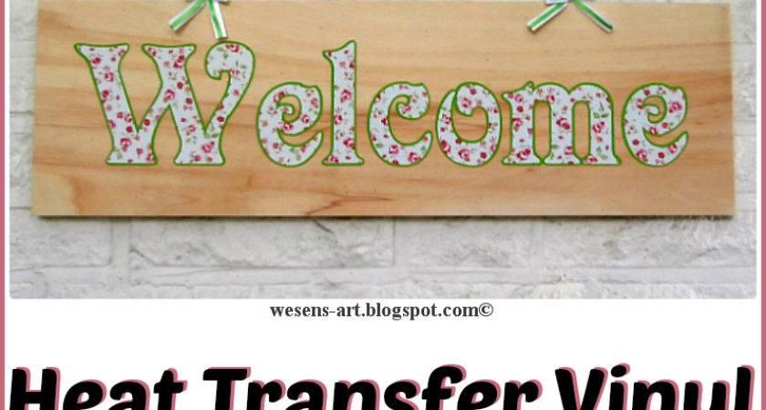 Wesens Art Heat Transfer Vinyl Wood
