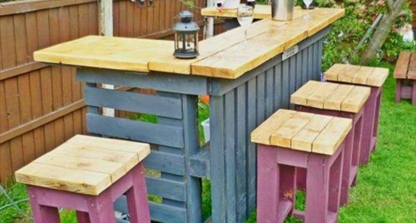 Which Color Consider Outdoor Pallets Patio Future