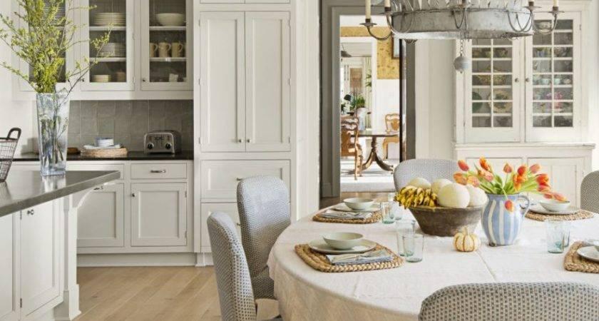 White Cabinets Light Floors Pure Granite