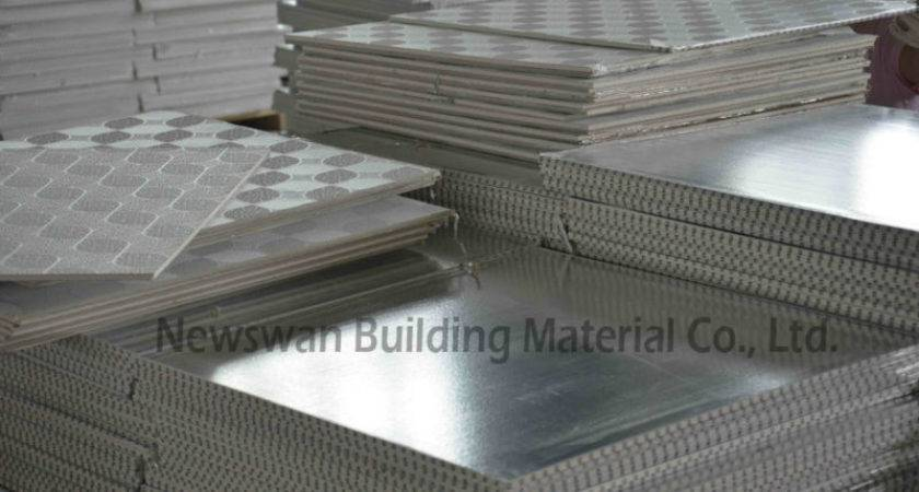 White Color Pvc Coated Gypsum Ceiling Tiles Sale Buy
