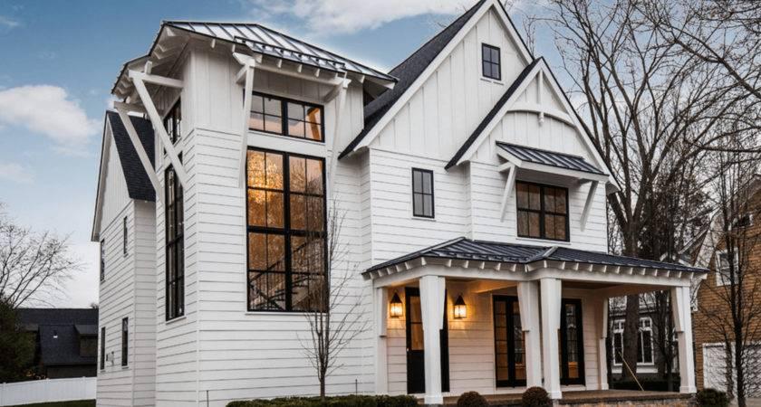 White Exterior Ideas Bright Modern Home