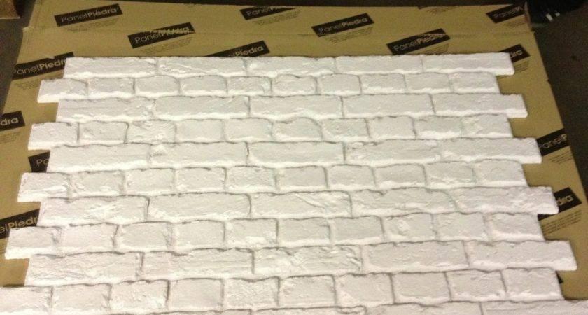 White Fauxbrick Wall Panels Dreamwall
