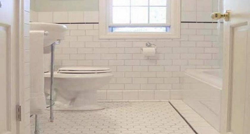 White Painting Ceramic Tile Home Interior Design