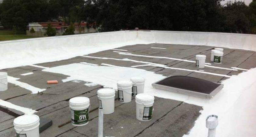 White Roof Coating Mobile Homes