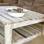 Whitewash Pallet Table Make
