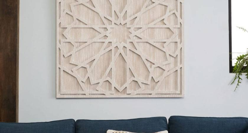Whitewashed Wood Wall Art West Elm Australia