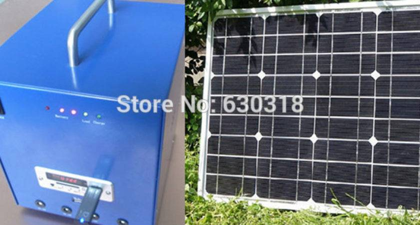 Whole House Solar Power System Mobile Home Panel