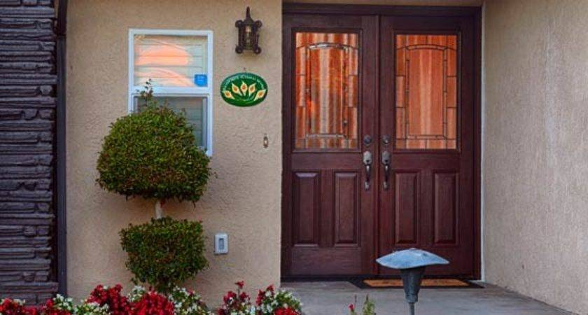 Wide Door Foot Double Doors