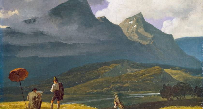 Wilhelm Bendz Mountain Landscape Google Art