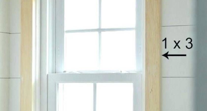 Window Trim Ideas Inside Astounding Simple