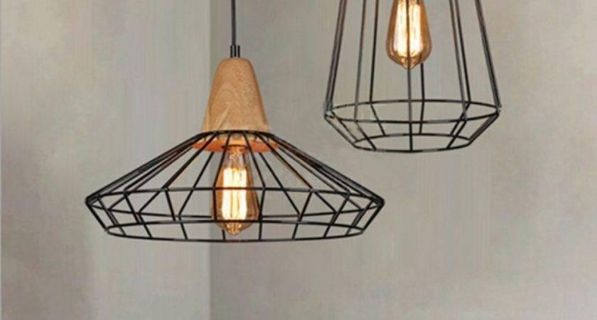 Winsoon Vintage Industrial Diy Metal Ceiling Lamp Light