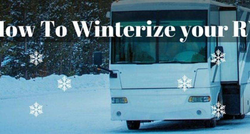 Winterize Mobile Home Things