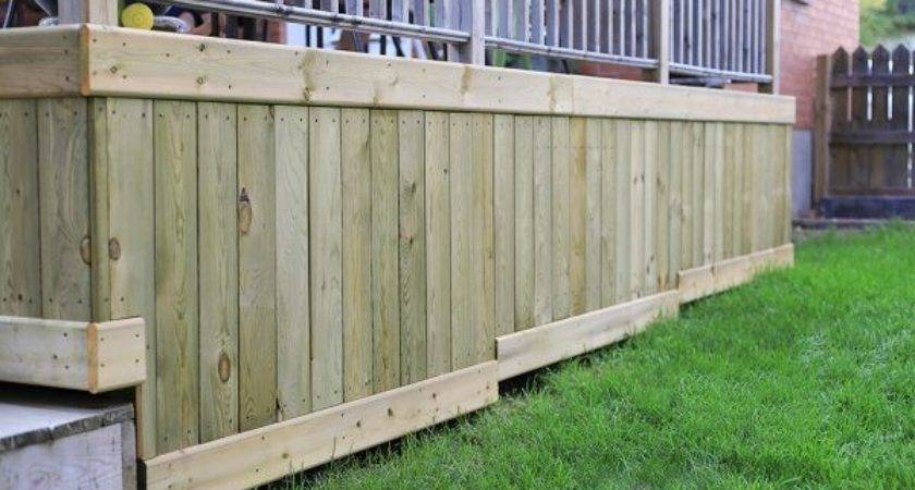 Wonderful Deck Skirting Ideas Your Home