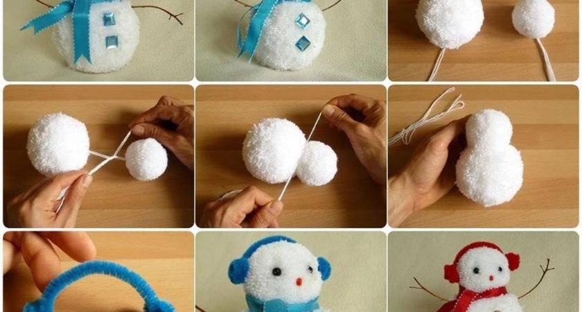 Wonderful Diy Creative String Snowman Balloon