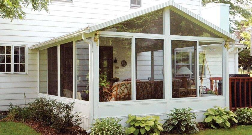 Wonderful Enclosed Porch Windows