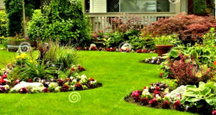 Wonderful Green Landscaping Ideas Front Yard Flower