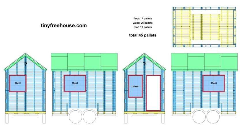 Wonderful Pallet Building Plans House