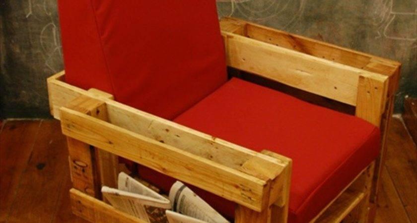 Wonderful Pallets Living Furniture Pallet Plans